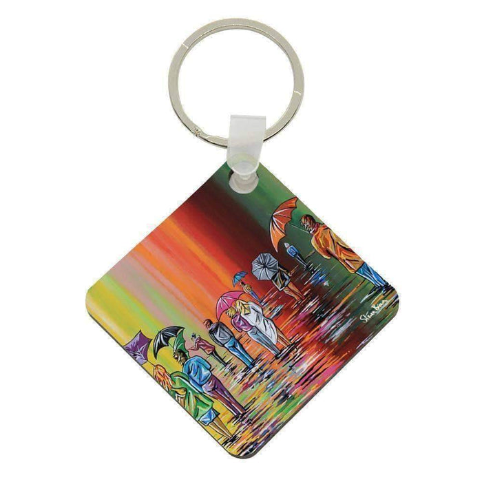 Scottish Autumn - Acrylic Keyring
