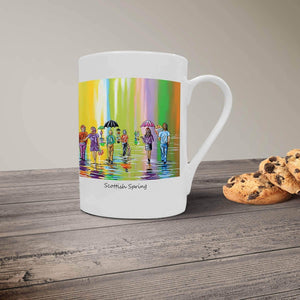 Scottish Spring - Bone China Mug