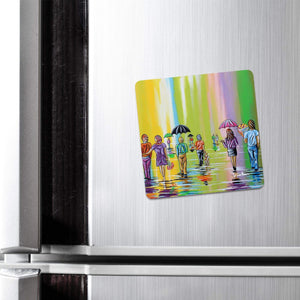 Scottish Spring - Fridge Magnet