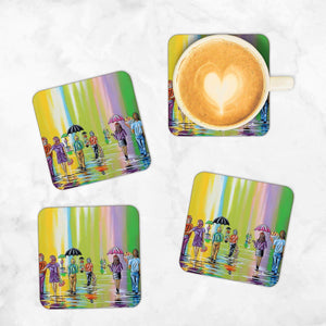 Scottish Spring - Set of 4 Coasters
