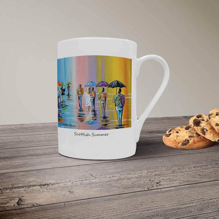 Scottish Summer - Porcelain Mug