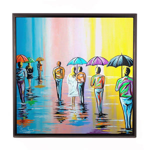 Scottish Summer - Framed Limited Edition Aluminium Wall Art