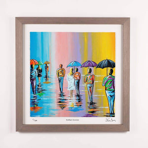 Scottish Summer - Framed Limited Edition Floating Prints