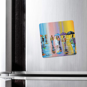 Scottish Summer - Fridge Magnet