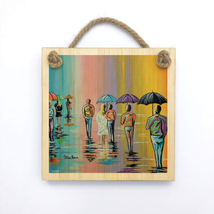 Scottish Summer - Wooden Wall Plaque