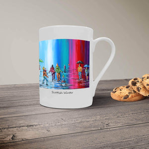 Scottish Winter - Bone China Mug