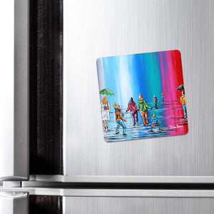 Scottish Winter - Fridge Magnet