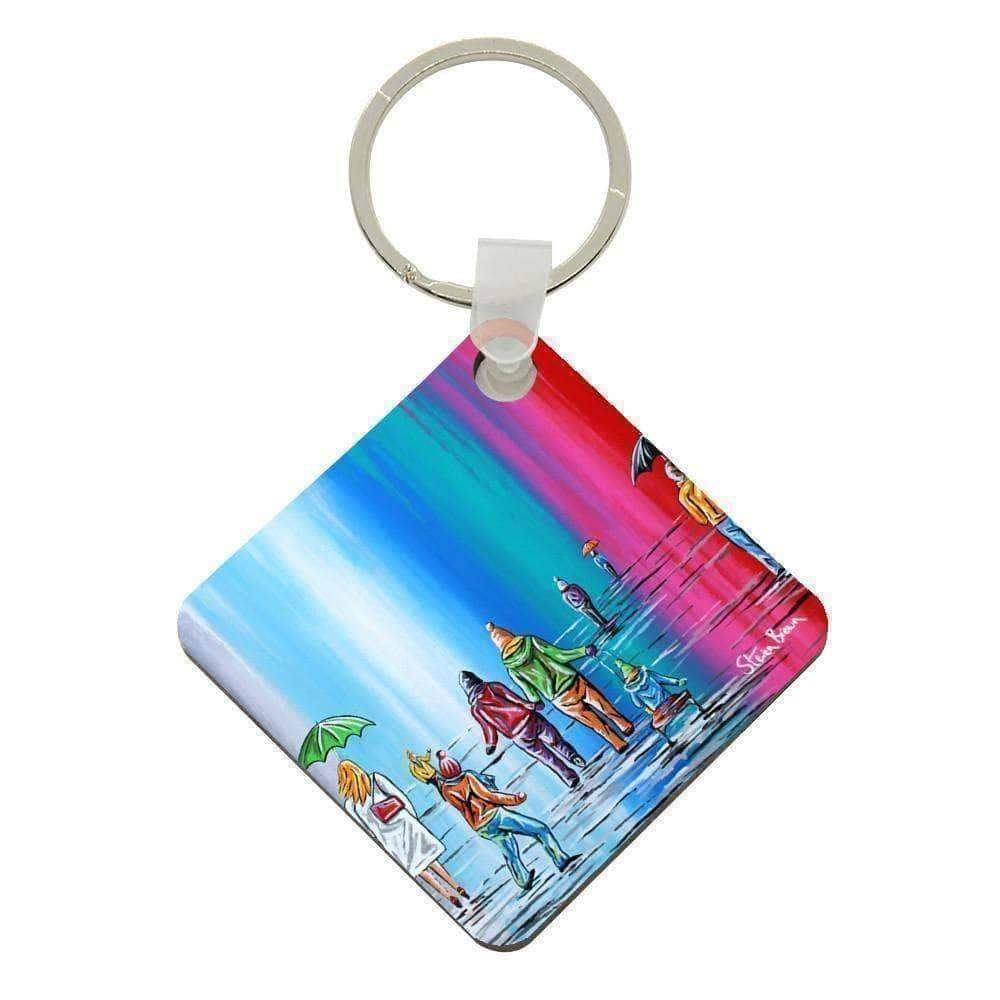 Scottish Winter - Keyring