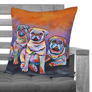 Scotty, Billy & Pugz McDug - Cushions