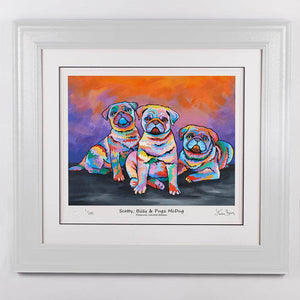 Scotty, Billy & Pugz McDug - Platinum Limited Edition Prints