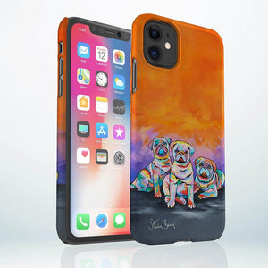 Scotty, Billy & Pugz McDug - Snap Phone Case