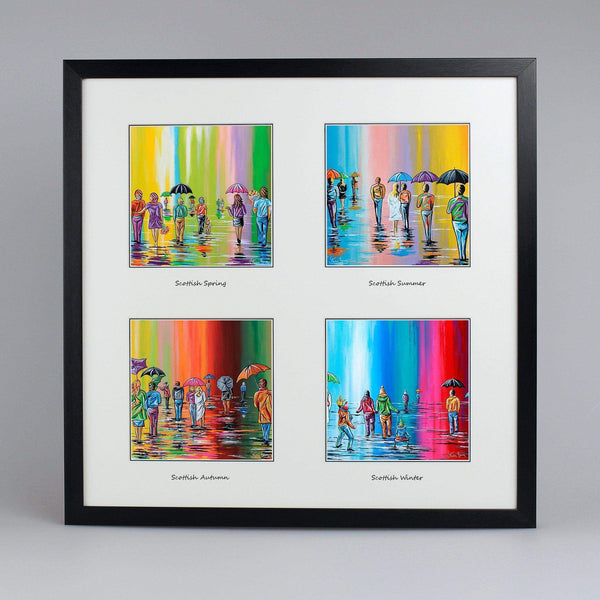 Seasons Collection - Quad Framed