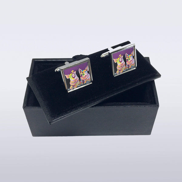 Sharon & Tracy McFarm - Cufflinks