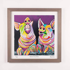 Sharon & Tracy McFarm - Framed Limited Edition Floating Prints
