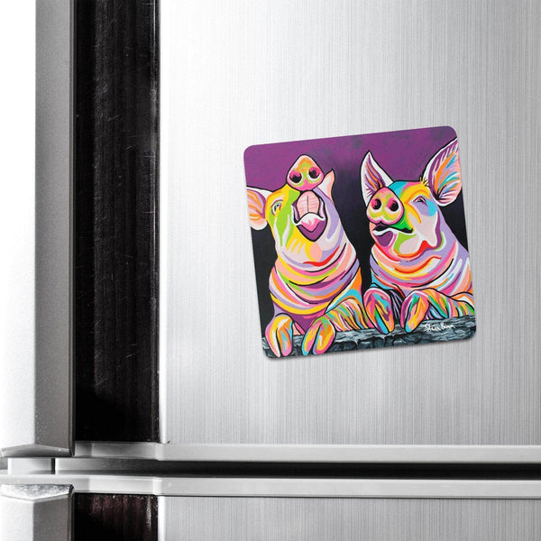 Sharon & Tracy McFarm - Fridge Magnet