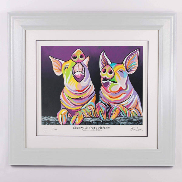 Sharon & Tracy McFarm - Platinum Limited Edition Prints