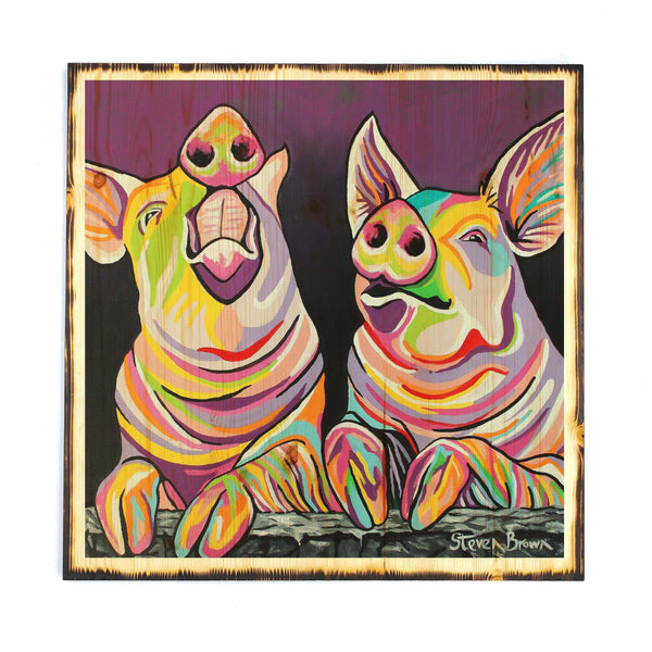 Sharon & Tracy McFarm - Timber Print