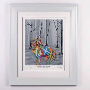 She Who is Brave - Platinum Limited Edition Prints