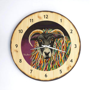 Shug MacEwe- Wooden Clock