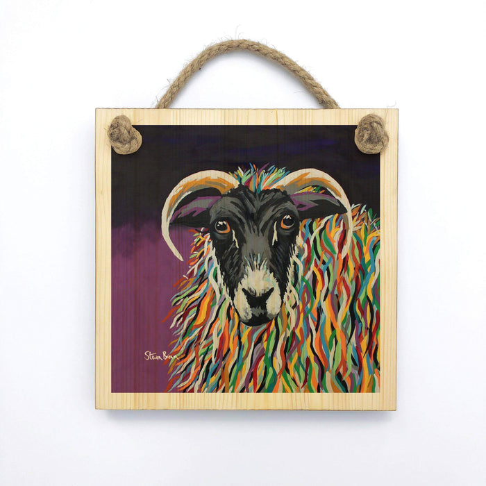 Shug McEwe - Wooden Wall Plaque