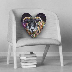 Shug McEwe - Heart Cushion