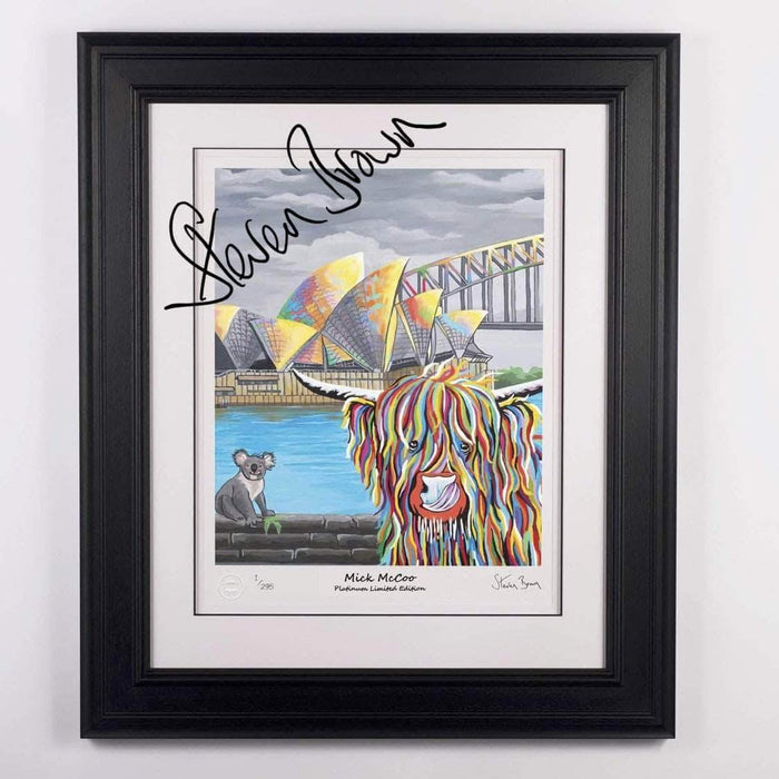 Signed Mick McCoo Platinum Print - Charity Auction