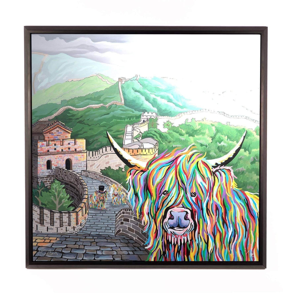Susie McCoo - Framed Limited Edition Aluminium Wall Art