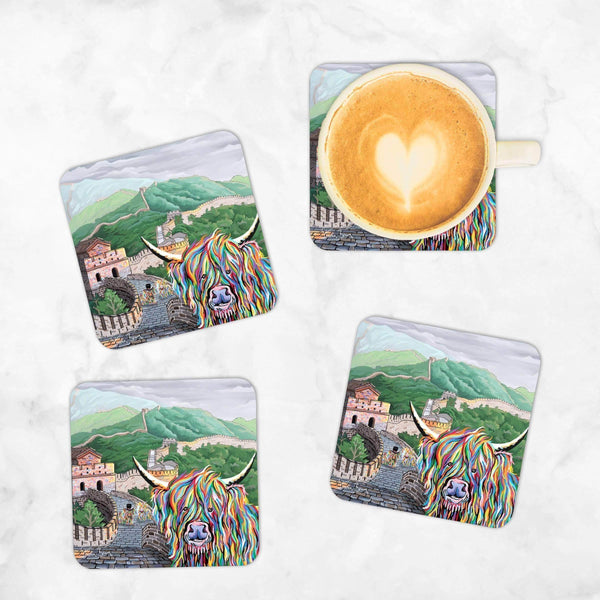 Susie McCoo - Set of 4 Coasters