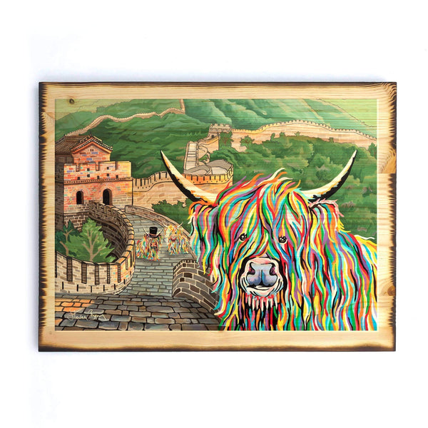 Susie McCoo - Timber Print