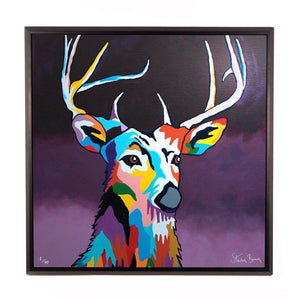 Tam MacDeer - Framed Limited Edition Aluminium Wall Art