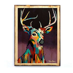 Tam MacDeer - Timber Print