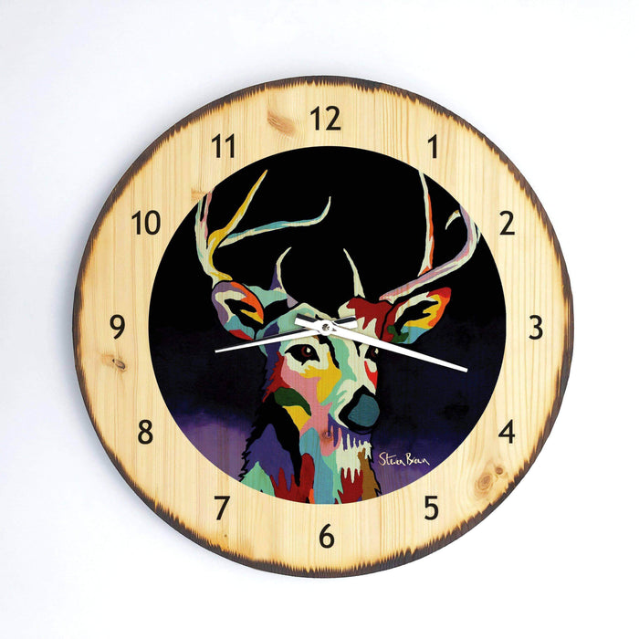 Tam McDeer - Wooden Clock