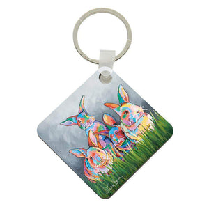The McBunnies - Acrylic Keyring