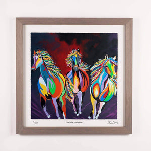 The Wild McCuddy's - Framed Limited Edition Floating Prints