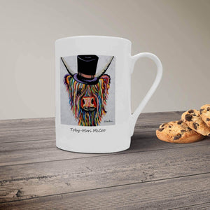 Toby Mori McCoo - Bone China Mug