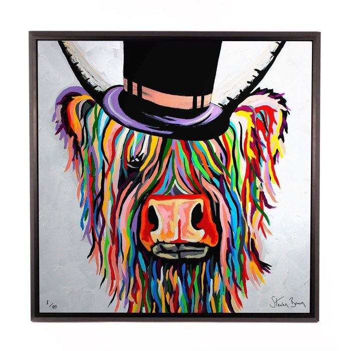 Toby Mori McCoo - Framed Limited Edition Aluminium Wall Art