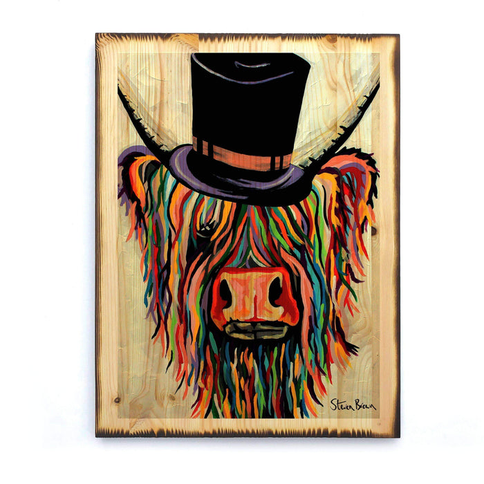 Toby Mori McCoo - Timber Print