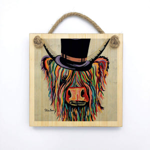 Toby Mori McCoo - Wooden Wall Plaque