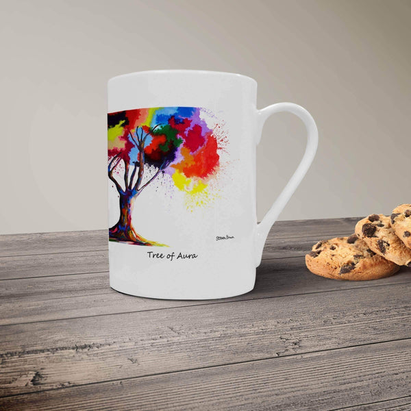 Tree Of Aura - Bone China Mug