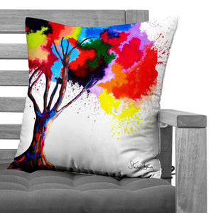 Tree Of Aura - Faux Suede Cushions