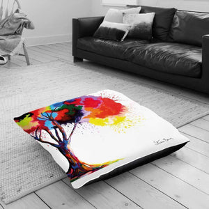 Tree Of Aura - Floor Cushion