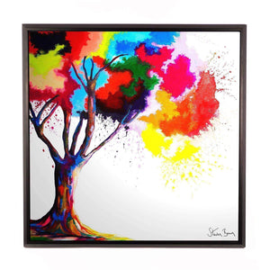 Tree of Aura - Framed Limited Edition Aluminium Wall Art