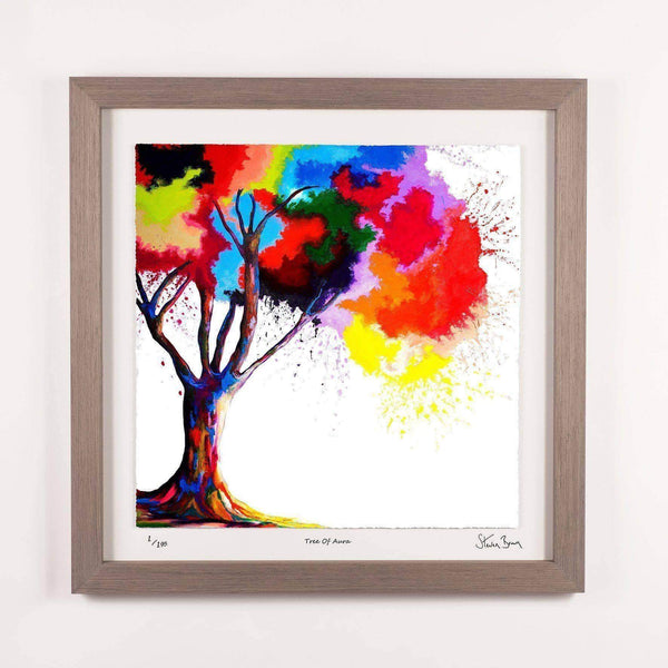 Tree Of Aura - Framed Limited Edition Floating Prints