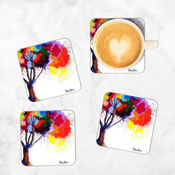 Tree Of Aura - Set of 4 Coasters