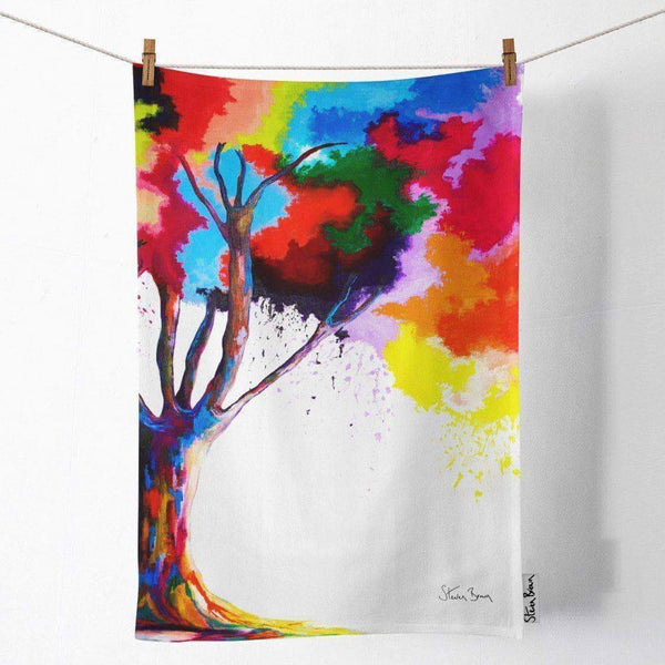 Tree Of Aura - Tea Towel