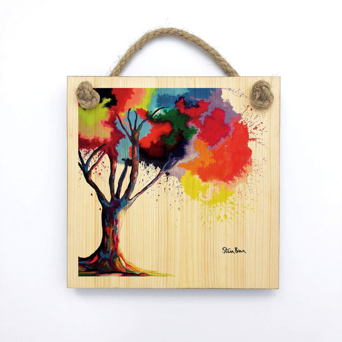 Tree Of Aura - Wooden Wall Plaque