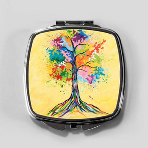 Tree Of Life - Cosmetic Mirror