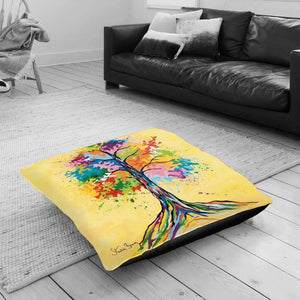 Tree Of Life - Floor Cushion
