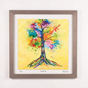 Tree Of Life - Framed Limited Edition Floating Prints