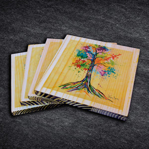 Tree Of Life - Timber Coasters
